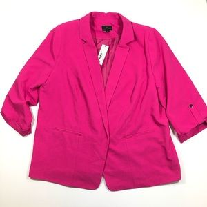 NWT Worthington Hot Pink Jacket Blazer